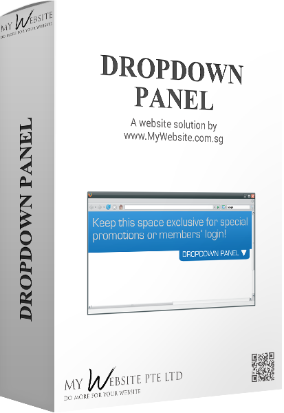 Dropdown Panel
