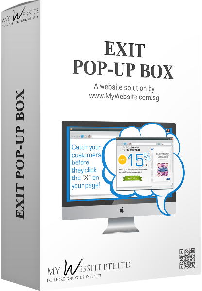 Exit Pop-up Box
