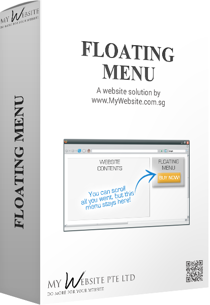 Floating menu